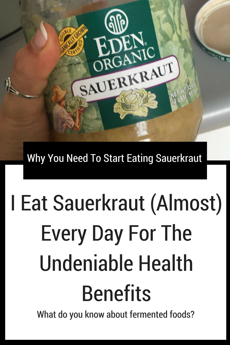 Why You Need To Start Eating Saeurkraut