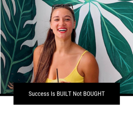 Success Is BUILT Not BOUGHT