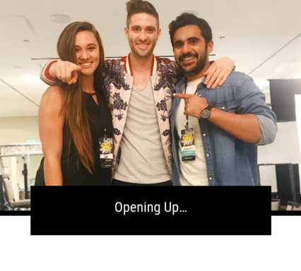 Opening Up…
